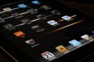 My clean iPad screen